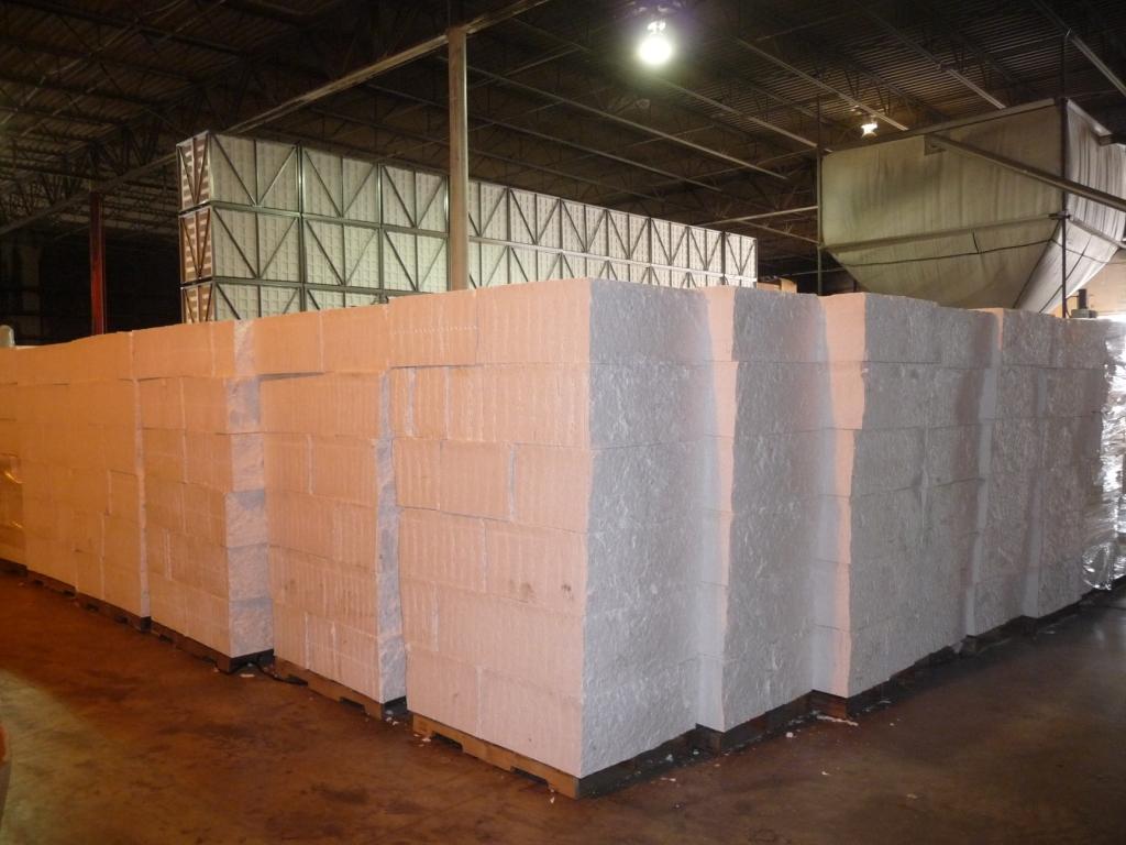 EPS Styrofoam Cold Press Blocks