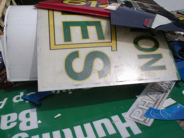 PC and PMMA Sign Scrap 2