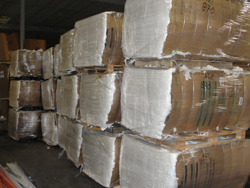 PET Natural Short Fiber Bales 7